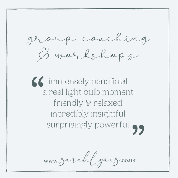 Sarah Lynas Group Coaching